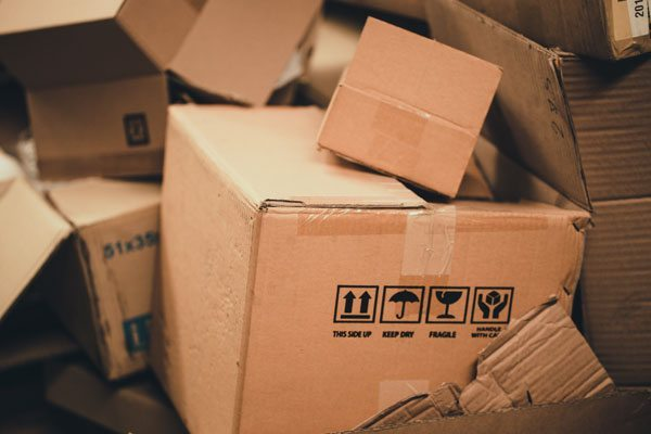 Be on the lookout for bed bugs in your used moving boxes