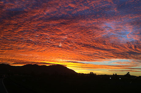 Watch A Beautiful Sunrise Over Box Springs Mountain After Your Move To Moreno  Valley.
