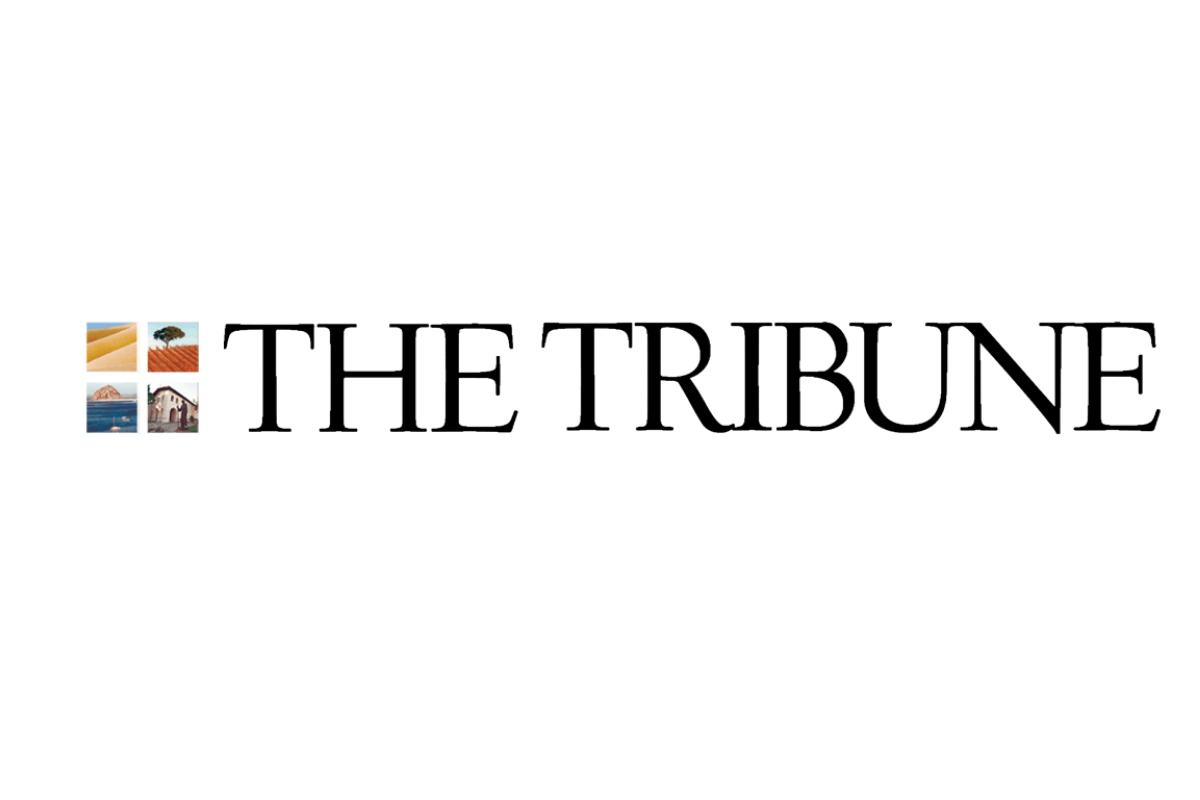 SLO Tribune Logo for Meathead Movers Press Article