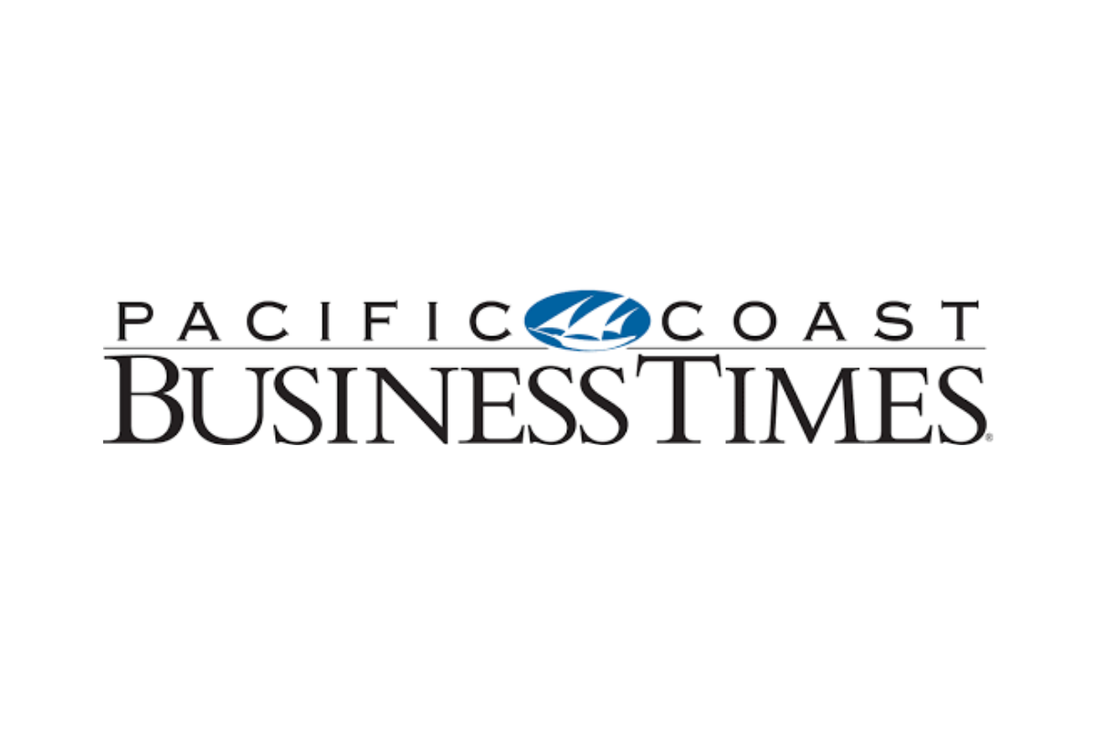 Pacific Coast Business Times Press Article Logo