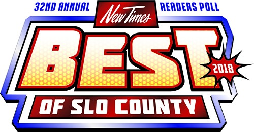 Best of SLO County 2018 Logo