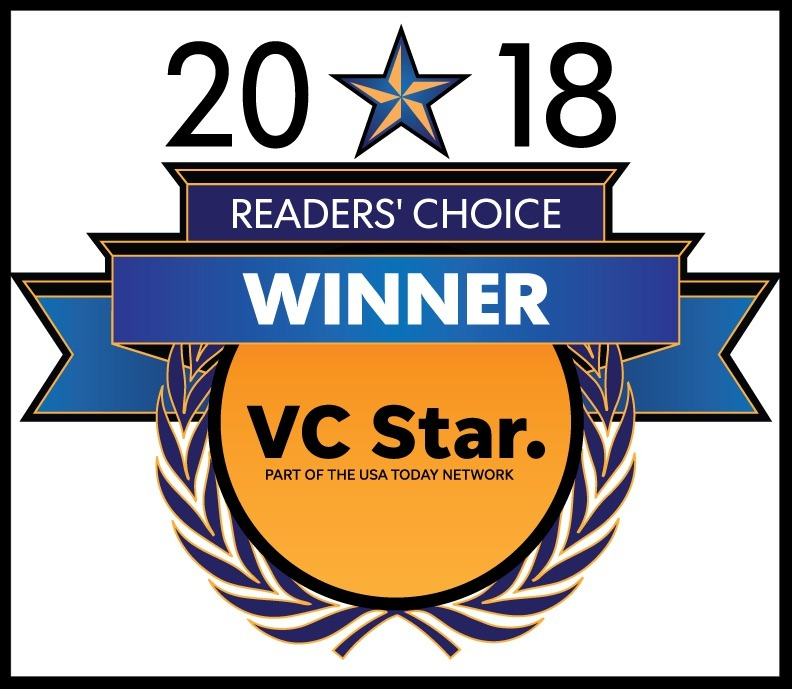Ventura County Star Readers Choice Award 2018 for Best Moving Company
