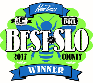 Best of SLO County 2017 award logo