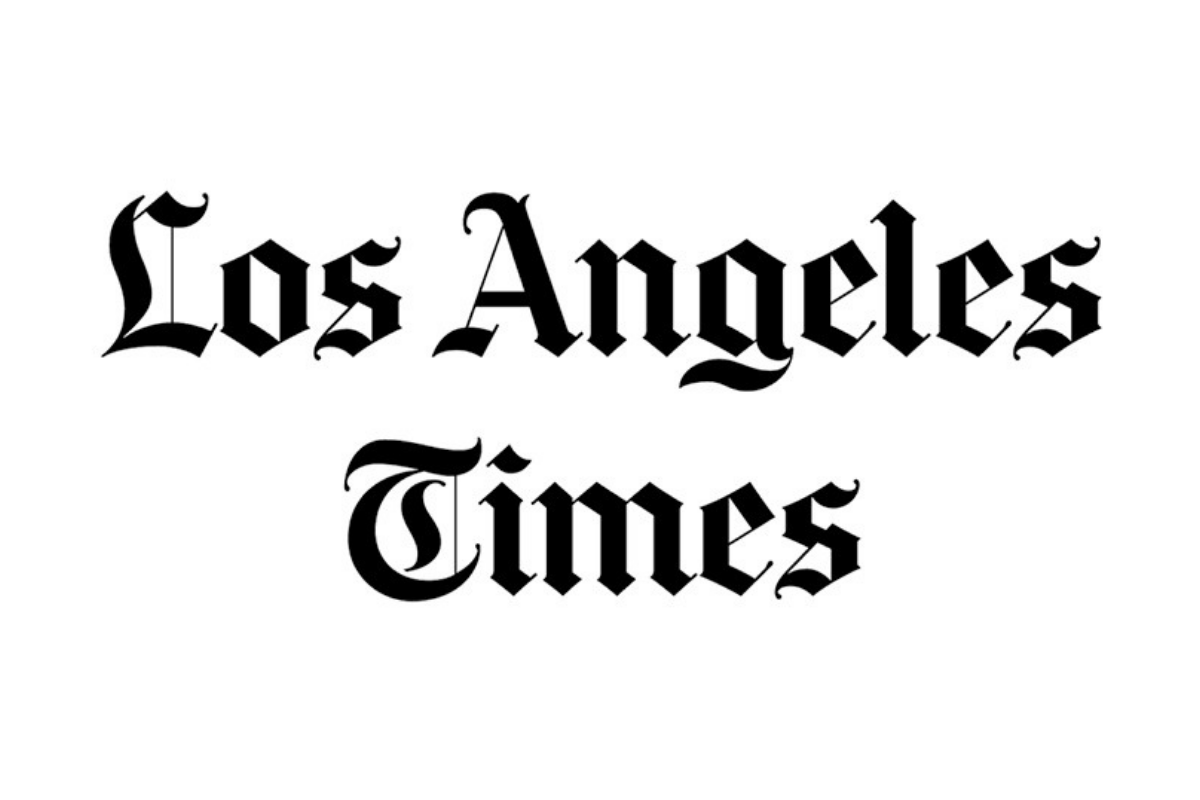 Los Angeles Times Press Article Logo