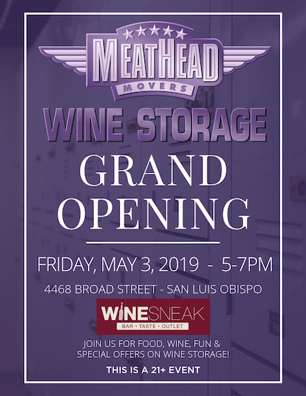Meathead Wine Storage Grand Opening Announcement