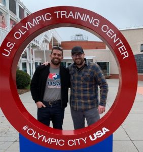 Meathead Movers at Olympic Training Center