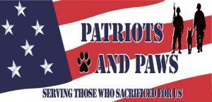 Patriots & Paws logo